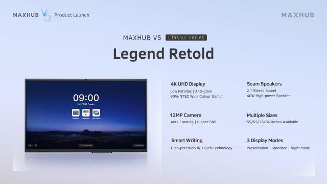 MAXHUB V5 Classic Series