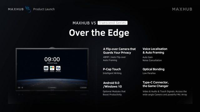 MAXHUB V5 Transcend Series